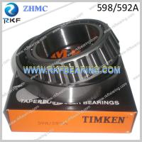 Wholesale USA Timken 598/592A Tapered Roller Bearing from china suppliers