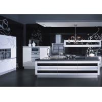 Wholesale Creamy Closeout Lacquer Kitchen Cabinets With Soft Closing Blum Hinges Waterproof from china suppliers