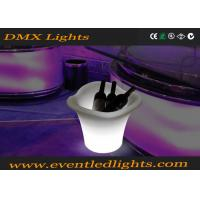 Wholesale LED Waterproof  Night Club Lighting Illuminated Rechargeable Plastic Led Ice Bucket from china suppliers