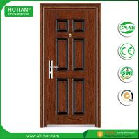Entry security fire proof steel doors used wrought iron for Security doors prices