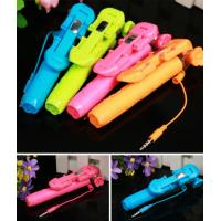 Wholesale Wired Mini Selfie Stick Handheld Monopod Extendable Fold Selfie Stick For iPhone Samsung from china suppliers