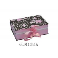 Quality Delicate Colorful Printing Gift Boxes Set Empty Book Shaped With Ribbon for sale
