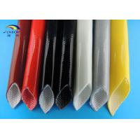 Wholesale Self-extinguishable Silicone Fiberglass Sleeving Multi Color Silicon Tubing Insulation Sleeve from china suppliers