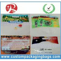 Wholesale Biogegradable Fruit Packaging Bags , Stand Up Zipper seal bags from china suppliers
