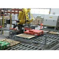 Wholesale High Speed Robotic Palletizing System / Stacking Machine With Edit and Remote Diagnosis from china suppliers