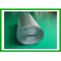 Wholesale PE Coating Silver Foil Bubble Wrap Insulation Attic Radiant Barrier Insulation from china suppliers