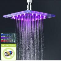 Wholesale Square LED Color Changing Shower Head, FD-2001-02 from china suppliers