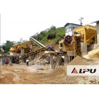 Wholesale Customized Rock Crushing Equipment , Complete Stone Crushing And Screening Plant from china suppliers