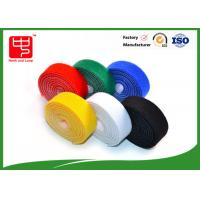 Wholesale Durable 30mm wide double sided hook and loop roll , back to back adhesive hook and loop roll various color from china suppliers