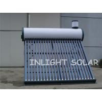 Wholesale 24 Tubes Color Steel Non-Pressurized Evacuated Tube Solar Water Heating from china suppliers