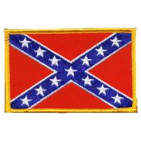 Wholesale Confederate Flag Patch Iron On Patch Embroidered from china suppliers