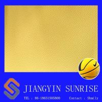 Wholesale Wear Resisting Basketball Pvc Synthetic Leather For Ball , Environmental Protection from china suppliers