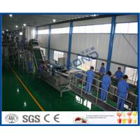 Wholesale 65 - 72 Brix Machine Fruit Juice Apple Processing Line With Self CIP System from china suppliers