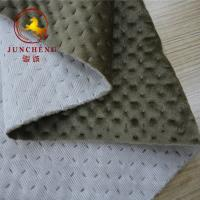 Wholesale 2018 new design ultrasonic quilted knitted velvet fabric from china suppliers
