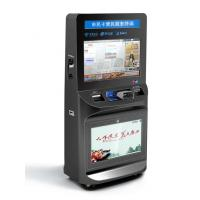 Buy cheap ZT2781 High Safety Large Screen lobby Ticket Vending Kiosk, Card Reader Kiosk For Ticket Printing from wholesalers