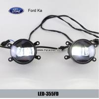 Wholesale Ford Ka front fog lamp assembly LED daytime running lights drl wholesale from china suppliers
