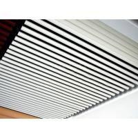 Wholesale Tubular Acoustic Ceiling Baffles White False Ceiling 50mm Dia For Corridor from china suppliers