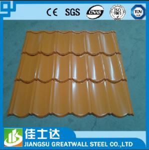 Quality SGCC,DX51D,JIS,ASTM/Zinc 33% Corrugated metal Sheet / Zinc Aluminum Metal Roofing Panels for sale