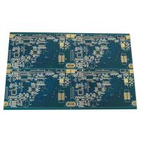 Wholesale 1oz LED Display Rigid PCB Board FR4 4 Layer Blue Soldermask from china suppliers