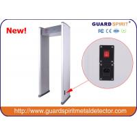Wholesale cheap price 6 zones walk through metal detector , security metal detctor with 6 LED Strips from china suppliers