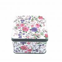 Wholesale Fashion Food Grade Lunch Tin Boxes Metal Square Tin Can UV Coating Surface from china suppliers