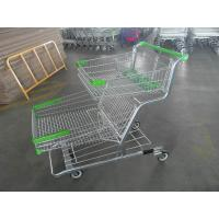 Wholesale Large Capacity Grocery Shopping Trolleys With Four Wheel / Baby Seat 120L from china suppliers