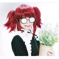 Wholesale Artificial Girl Red Custom Cartoon Cosplay Wigs with Braid from china suppliers