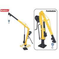 Wholesale Yellow Small Manual 1 Ton Jib Crane  , 360° Rotation With Brake from china suppliers