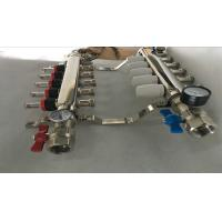 Wholesale 304 Or 201 Stainless Steel Radiant Floor Heating Manifold 5 Ways from china suppliers
