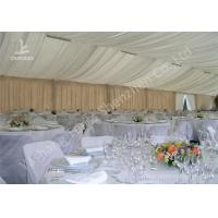 Wholesale Exterior Luxury Decoration Portable Event Canopy Tent with Linings and Lights from china suppliers