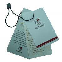 Wholesale Custom Clothing Labels Tag, Labels Hang Tags For Clothes 0.2 ~ 2mm Thickness from china suppliers