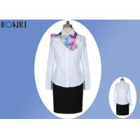 Wholesale Long Sleeve Shirt Professional Office Uniforms With Single Breasted from china suppliers