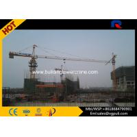 Wholesale Heavy Duty Construction Lift Equipment , Climbing Tower Crane 1.0T Tip Load from china suppliers