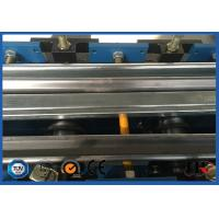 Wholesale Shutter Edge Covering  Rolling Forming Machine With Track Cutting 5.5 KW 380V 50HZ from china suppliers