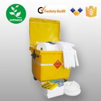 Wholesale ISO 9000:2008 100% PP white oil Spill Control emergency spill kits from china suppliers