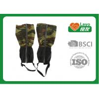 Wholesale Portable Camo Hunting Gear Warm Winter Running Gaiters For Boots from china suppliers