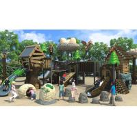 Buy cheap Tree House Theme Park Playground Equipment / Safety Playground Screws For Kids from wholesalers