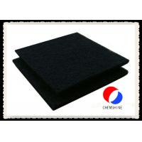 Quality Good Adsorption Activated Carbon Felt 1MM Thickness Fireproof For Air Purification for sale
