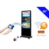 Wholesale Free Standing WiFi Digital Signage kiosk LCD Advertising Media Monitor from china suppliers