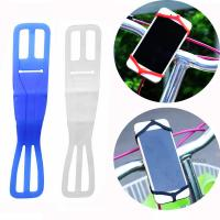 Wholesale Elastic bicycle phone holder , bike phone mount silicone strap for iPhone 7 6 6S from china suppliers