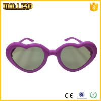 Buy cheap tv circular polarizer review heart shape 3d glasses free for cinema or tv from wholesalers