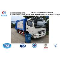 Wholesale China made Dongfeng 6-7m3 garbage compactor truck for sale, Factory sale lower  price Dongfeng compacted garbage truck from china suppliers
