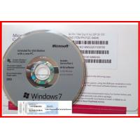 Quality Genuine Microsoft Windows 7 Pro / Professional Operating System Muti-Language online activation for sale