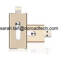 Wholesale Lighting Connector High Quality OTG USB Flash Drive for iPhone iPad iPod Andriod Phone PC from china suppliers