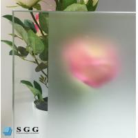 Buy cheap Custom Excellence quality acid etched frosted glass from wholesalers