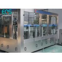 Wholesale 275ml / 300ml /500ml Glass Bottle Carbonated Soda Filling Machine Automatic 3 - In -1 from china suppliers