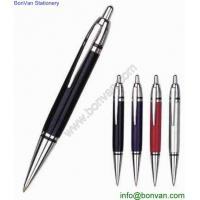 Wholesale Classic retractable metal click pen for gifts,good quality metal push ballpoint pen from china suppliers
