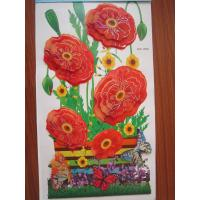 Wholesale Eco-friendly , Removable 2897 31 * 55cm Removable Vinyl 3d Wall Decoration Stickers from china suppliers