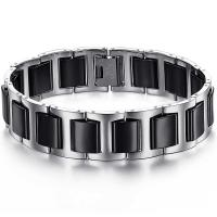 Wholesale New Super Fashion Tagor Jewelry Factory Ceramic Tungsten Series Bracelet TYWB055 from china suppliers