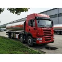 China FAW J5MV 4 Axles Diesel Mobile Tanker Truck Aircraft Refueling Manual Transmission Type on sale
